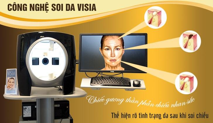 máy soi da Visia tại Dr Hoàng Tuấn