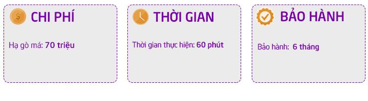Chi phí hạ gò má tại Dr Hoàng Tuấn